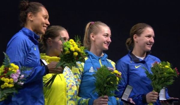 Украинки выиграли этап Кубка мира / dsmsu.gov.ua