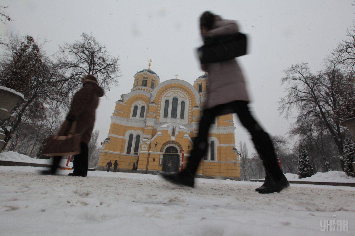 Зима в Києві була теплішою за норму / УНІАН