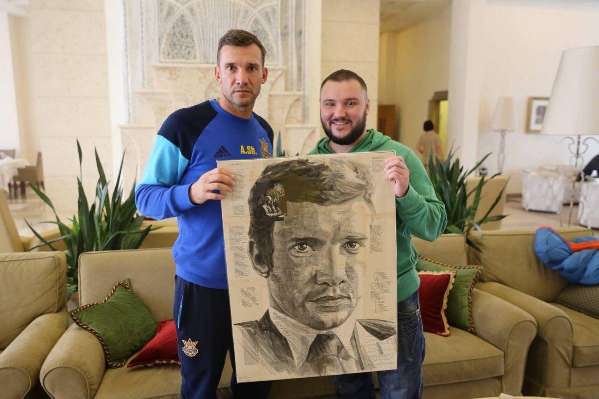 портрет символизирует сочетание эпох украинского сознания и культуры / facebook.com