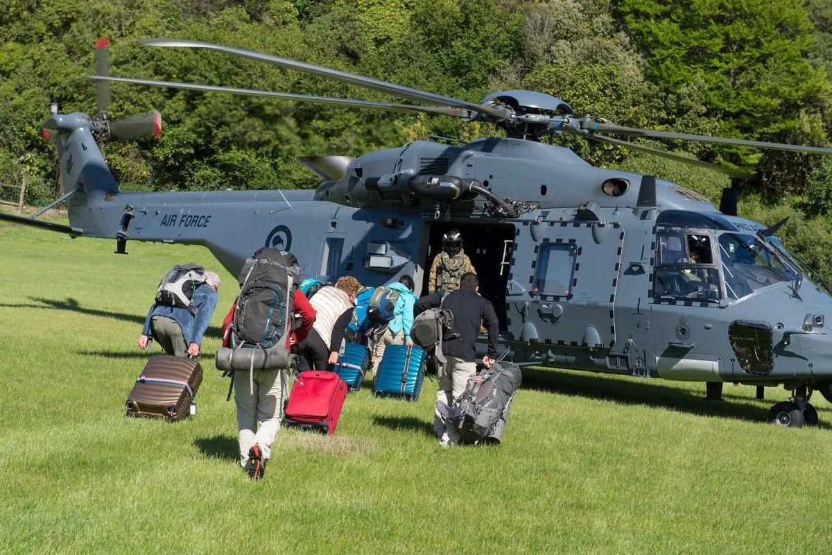 Евакуація в Новій Зеландії / Reuters