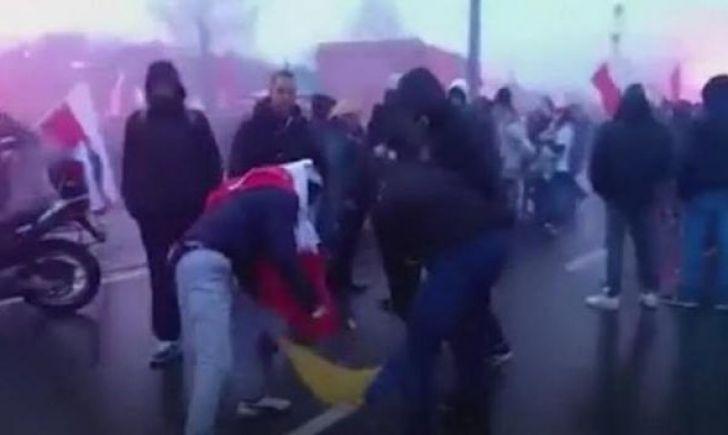 Пєккло назвал сожжение украинского флага провокацией пророссийского среды