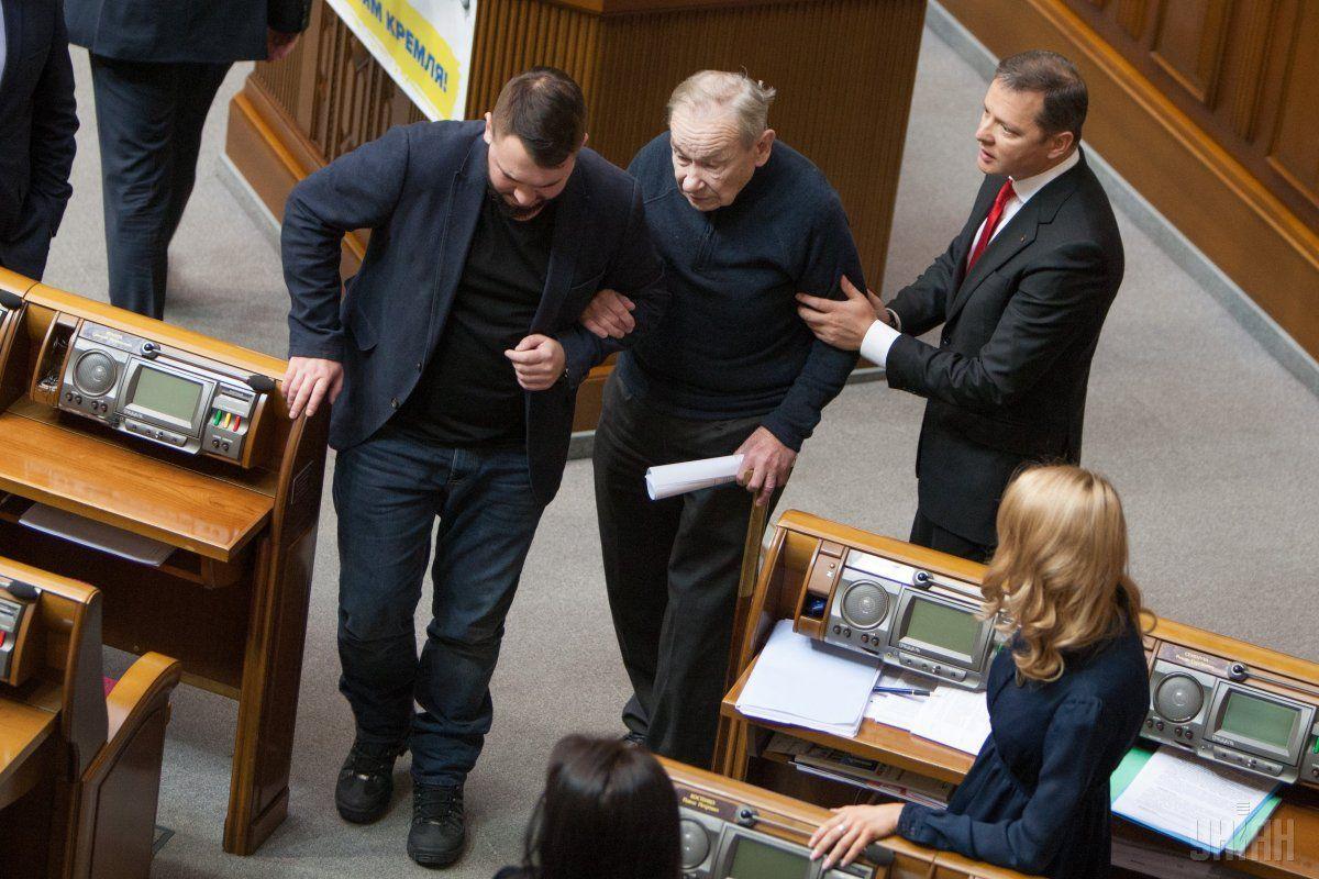 Шухевичу стало зле / фото УНІАН