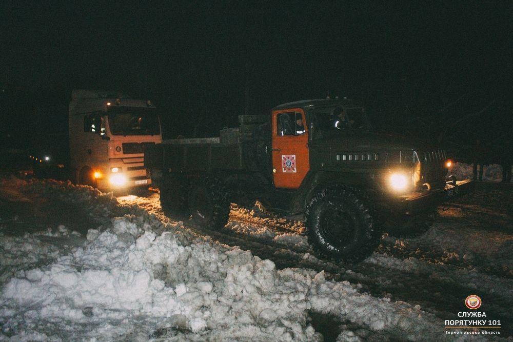 Фото служби порятунку 101 у Тернопільській області