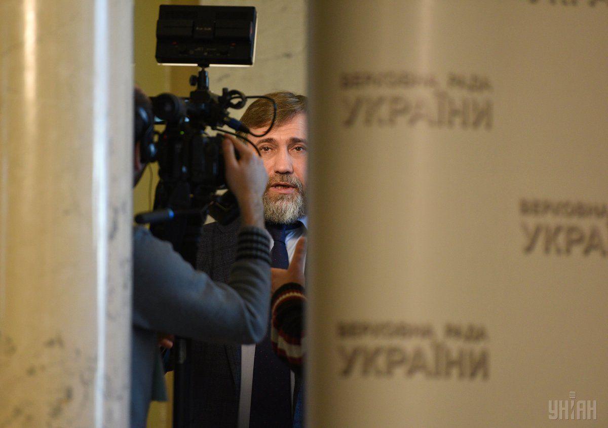 Регламентный комитет ВР направил спикеру представление на Новинского / УНИАН