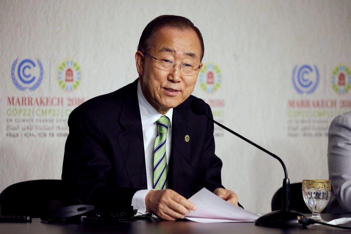Генсек ООН Пан Гі мільйонів по всьому світу / Reuters