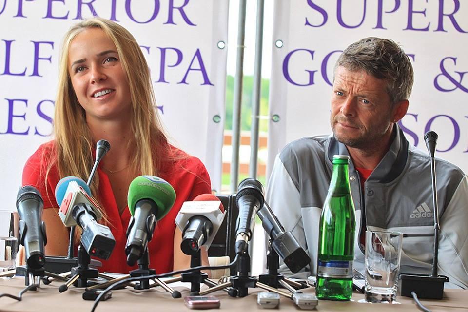 Свитолина и Хьюз / facebook.com/elinasvitolinaofficial