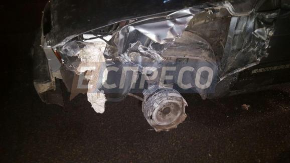 В Киеве пьяный водитель сбил женщину и пытался сбросить авто полиции с дороги / Эспрессо