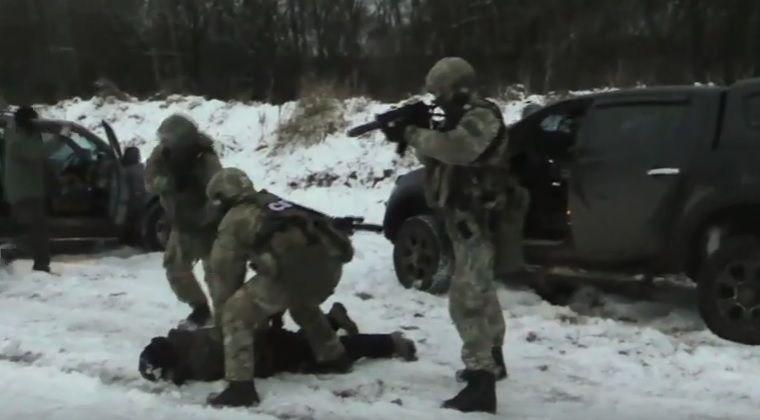СБУ показала, как освобождала Богданова / Скриншот