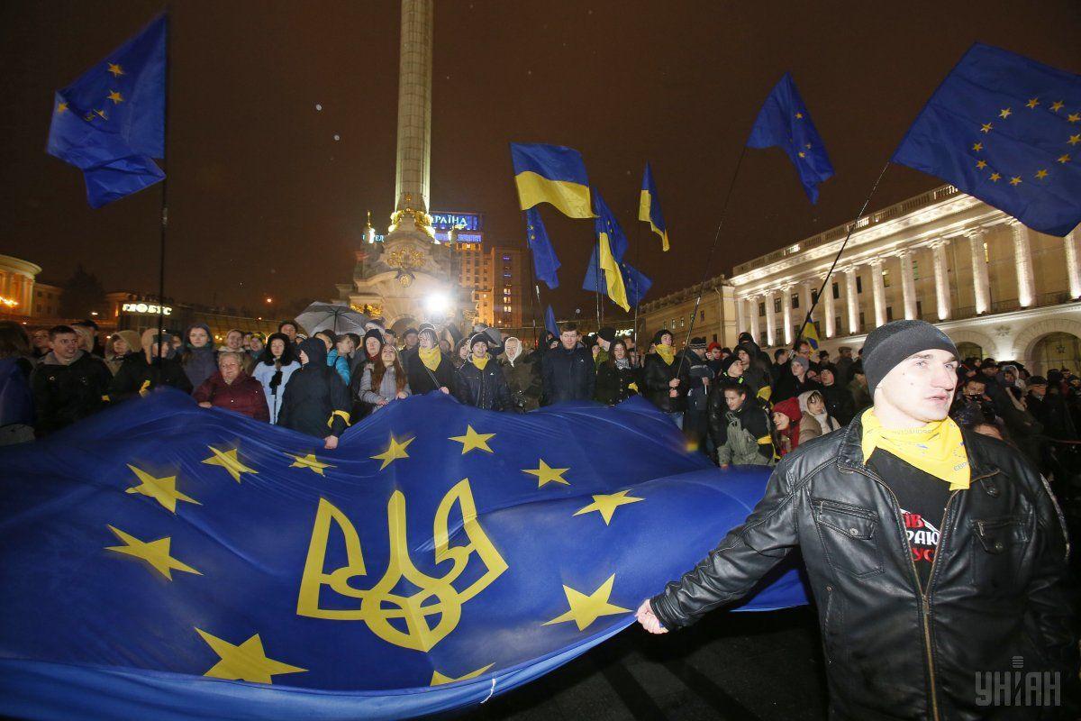 Яценюк привітав українців з Днем Гідності та свободи / Фото УНІАН