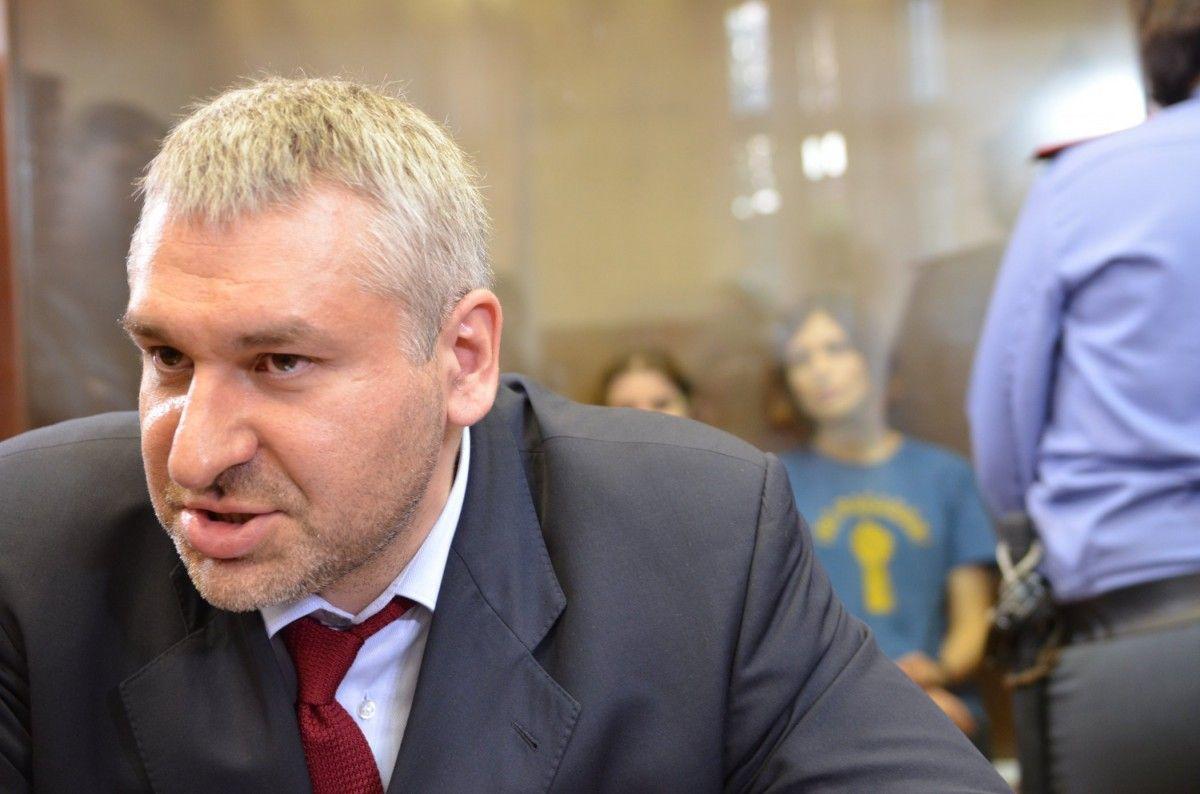 Марк Фейгин представляет интересы Романа Сущенко в ЕСПЧ / фото 112.ua