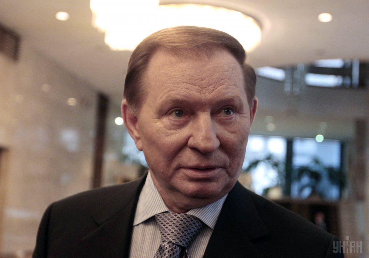 Кучма считает, что Макрон и Меркель будут давить на Зеленского уступить России / фото УНИАН