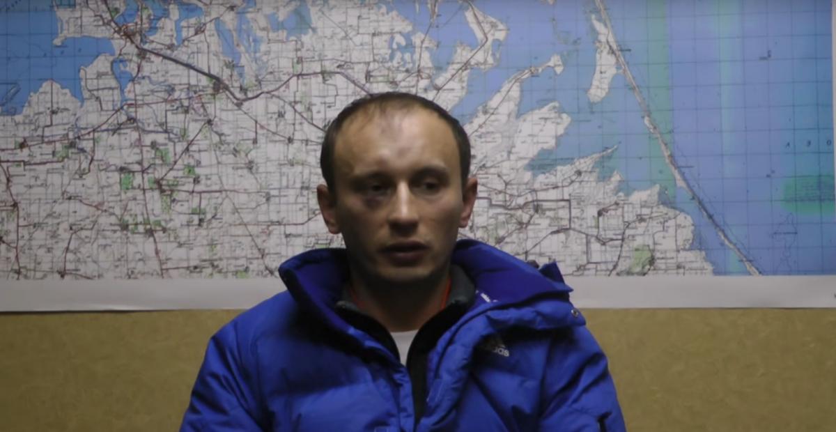 Дезертира Александра Баранова осудили в Киеве / скриншот