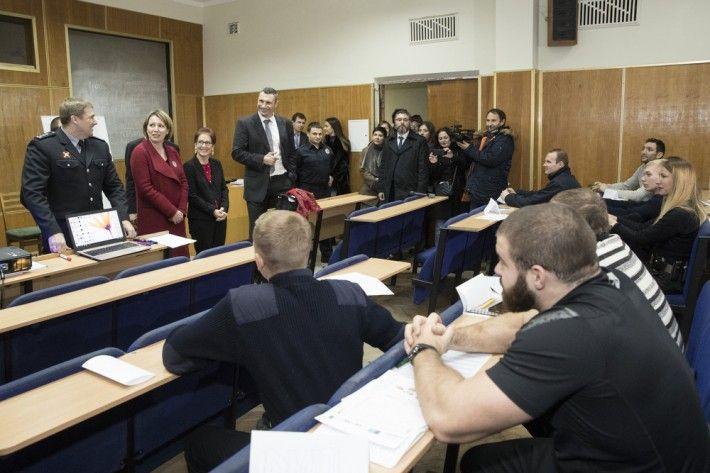 Кличко принял участие в презентации проекта