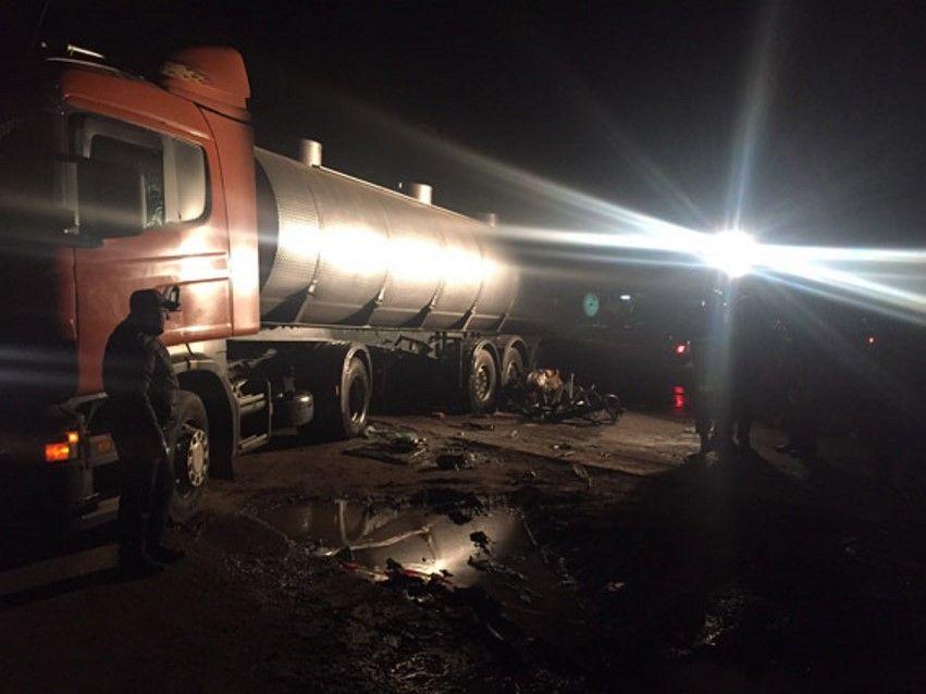 Водій вантажівки не постраждав / Фото mk.npu.gov.ua