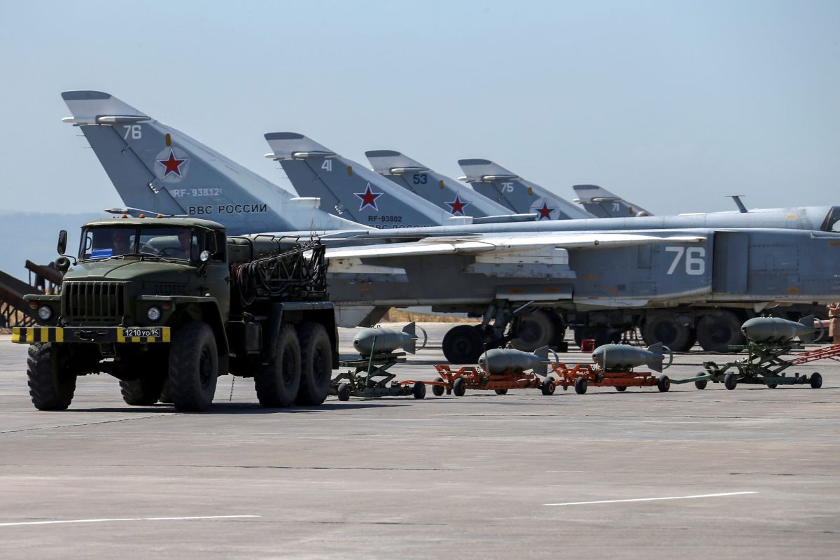 A mortar attack might have destroyed 7 Russian fighters in Syria