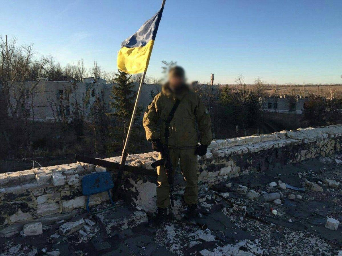 Розвідник отримав поранення / facebook.com/Vyacheslav.Abroskin