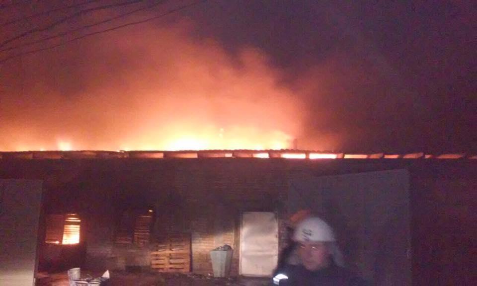 Пожежа спалахнула о 2:00 23 листопада / facebook Олександра Горгана