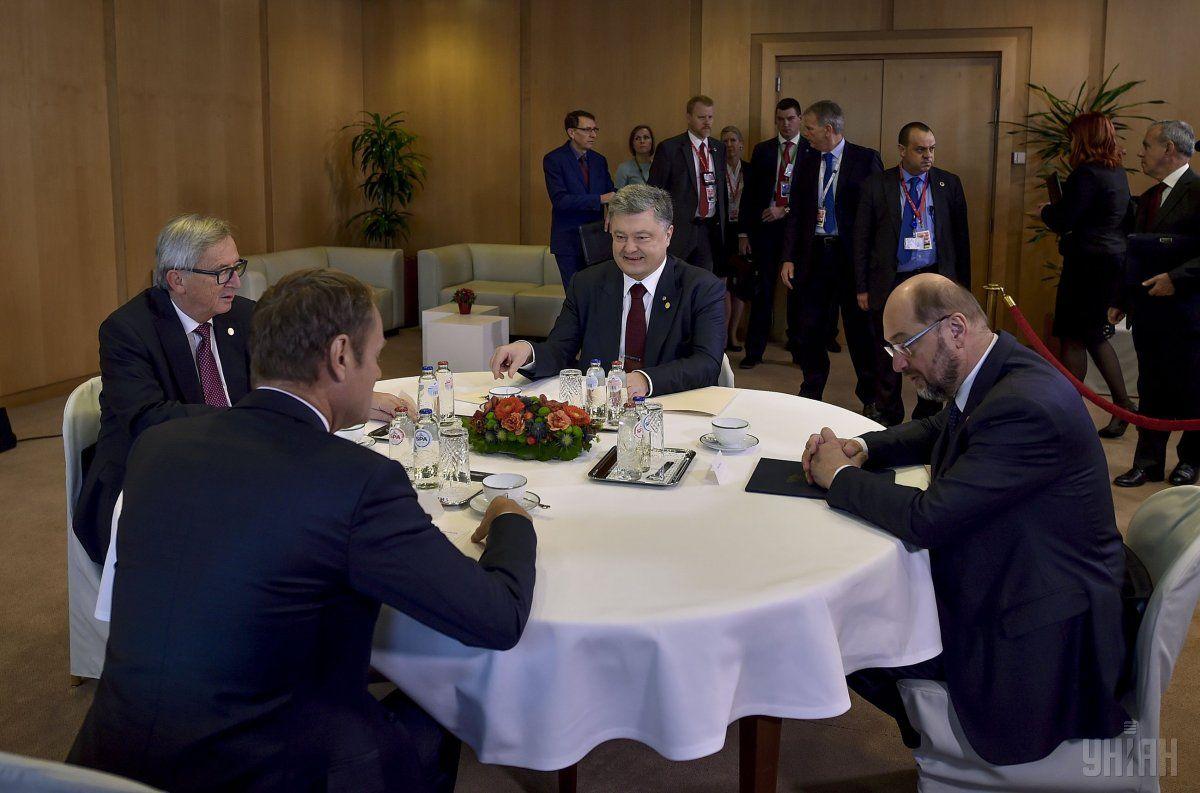 Переговоры Порошенко с руководством ЕС / УНИАН