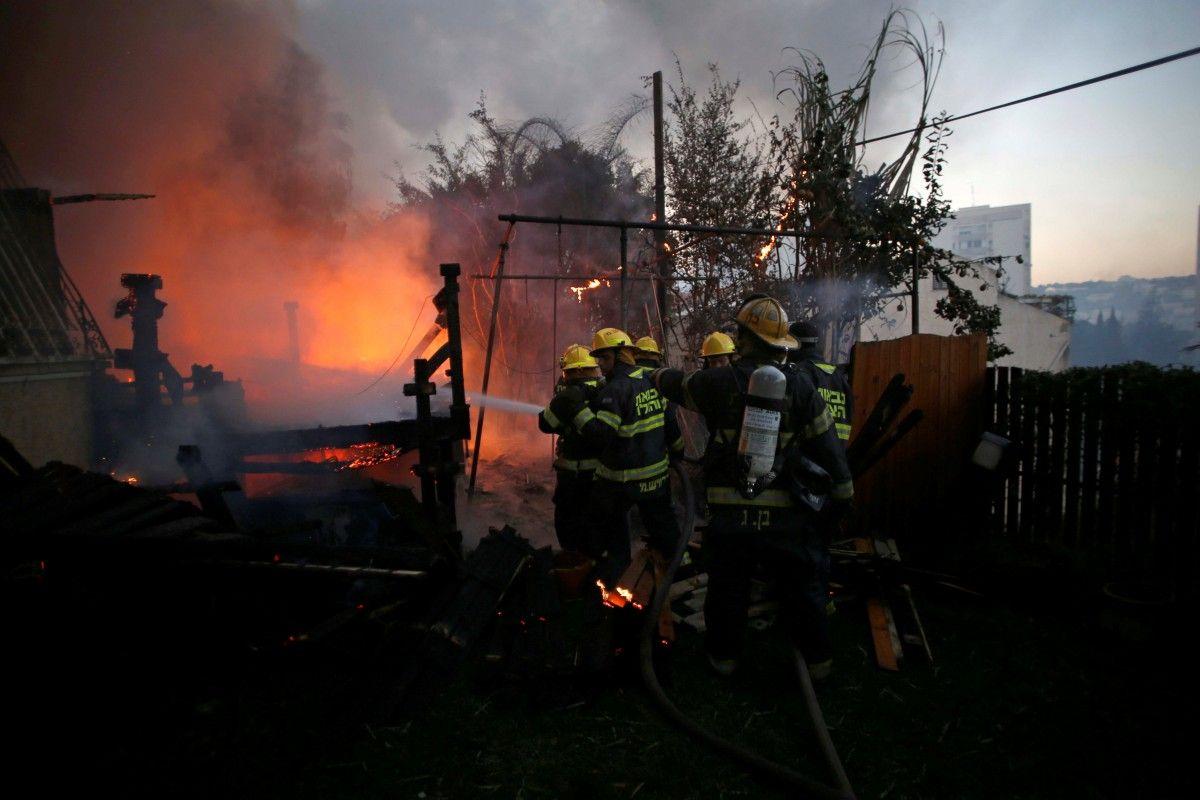 Пожежі в Ізраїлі / REUTERS