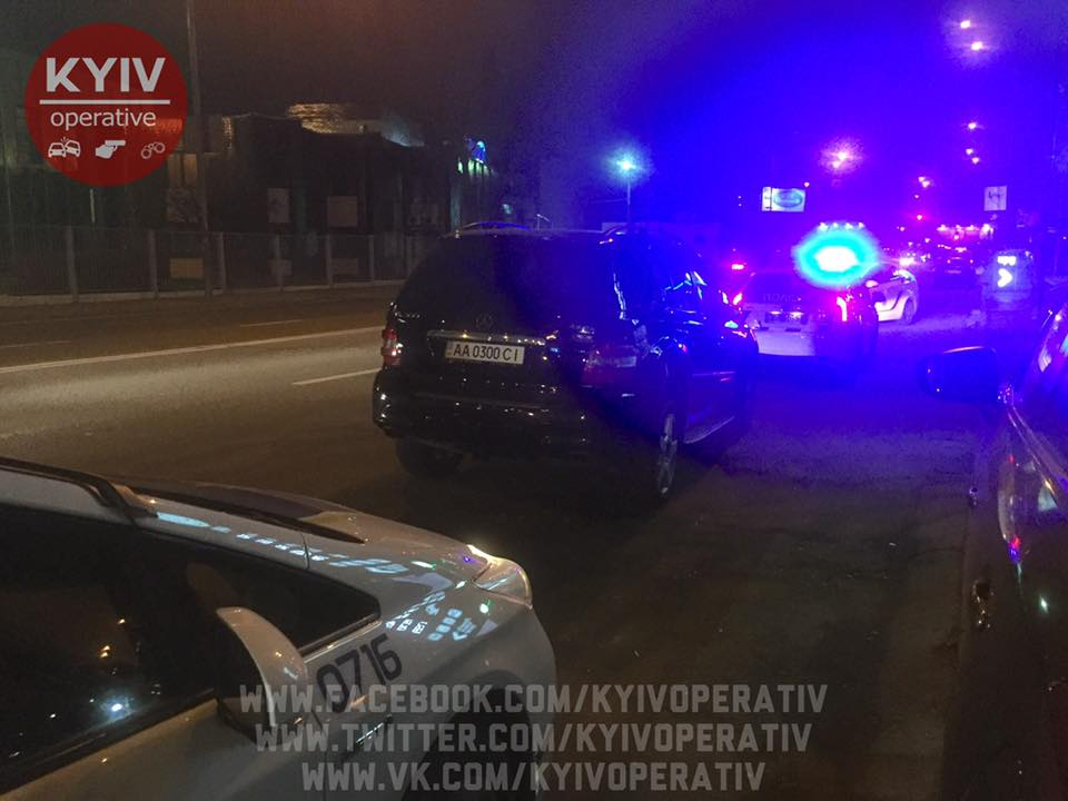 Працівники СБУ погрожували патрульним / facebook.com/KyivOperativ