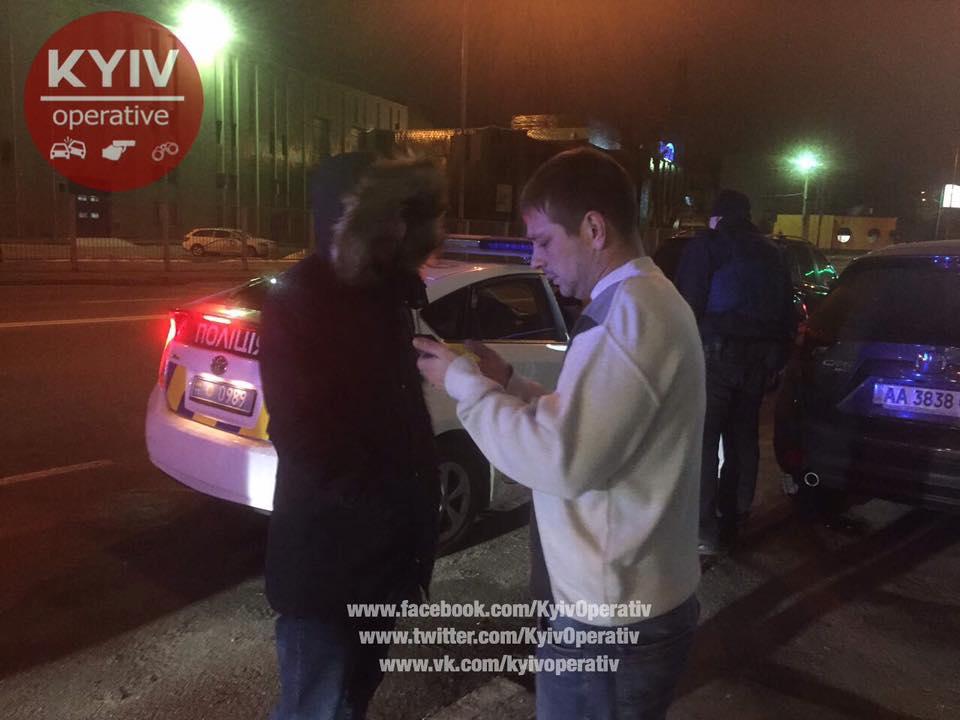 Тест на алкогольне сп'яніння порушники відмовились проходити / facebook.com/KyivOperativ