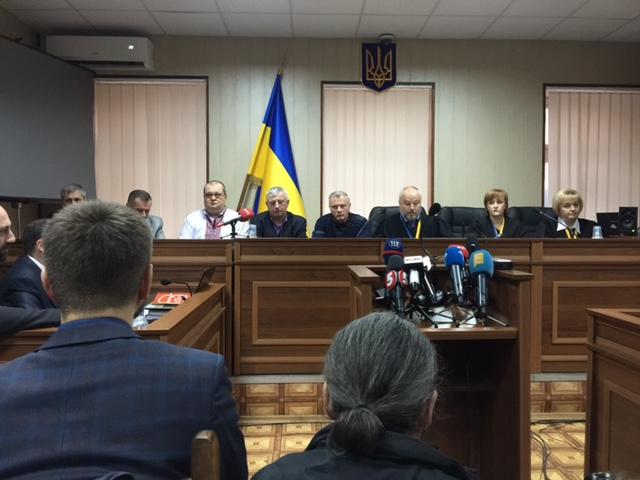 Суд оголосив перерву на 20 хвилин / фото УНІАН