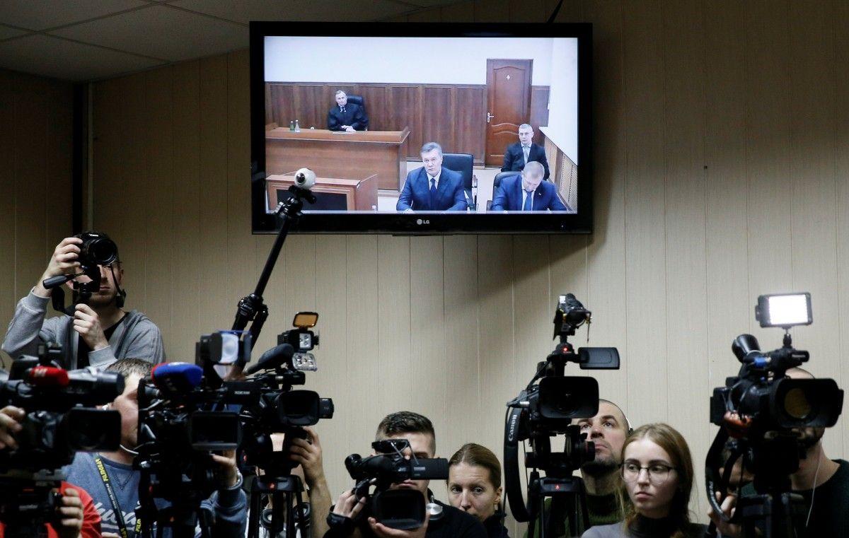 Допит Януковича / REUTERS