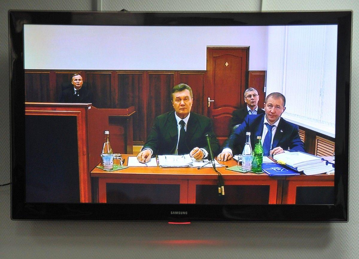 Відеодопит Януковича, ілюстрація / REUTERS