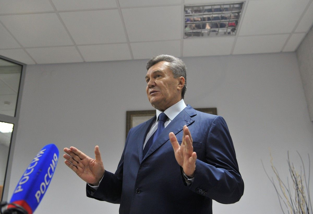 Янукович не выступит с последним словом на суде о госизмене / REUTERS