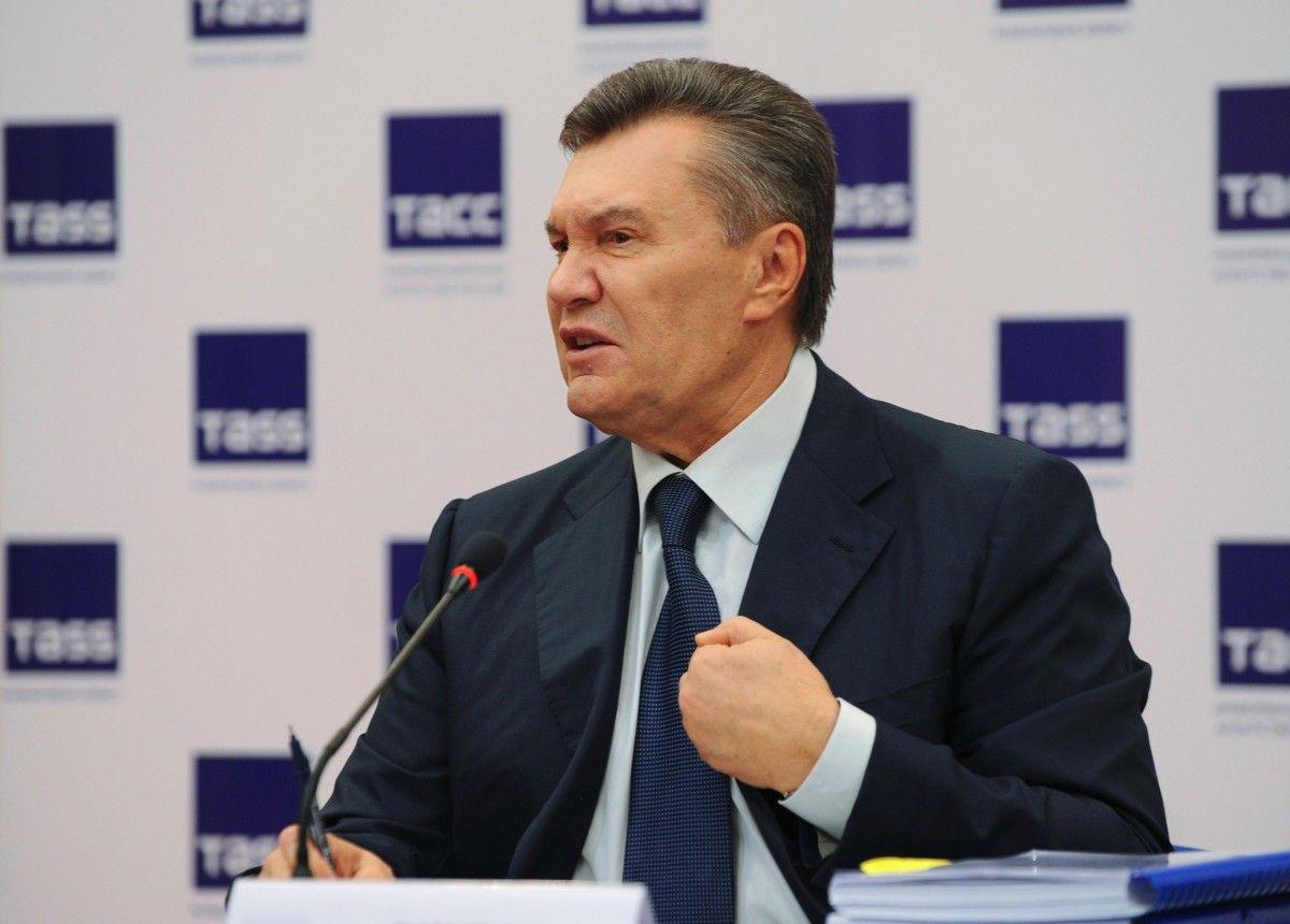 Янукович не будет участвовать в рассмотрении меры пресечения / REUTERS
