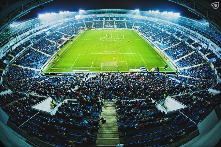 """Стадіон """"Чорноморець"""" стане домашньою ареною """"Маріуполя"""" у матчі єврокубка / vk.com/fc__chernomorets"""