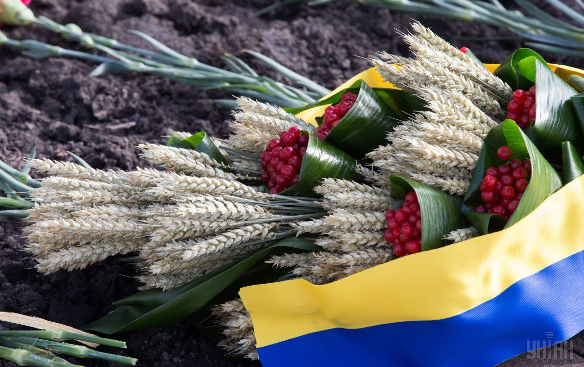 Kyiv prepared a draft declaration on the 85th anniversary of the Holodomor / Photo from UNIAN