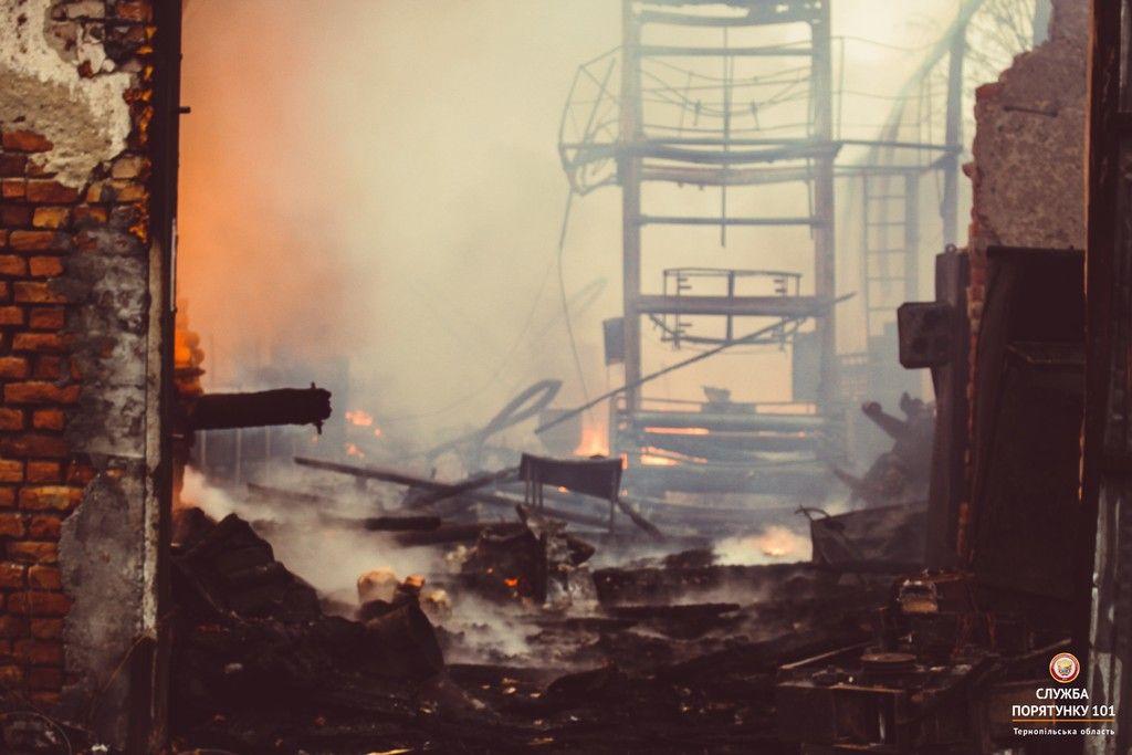Пожежа мала місце в с. Великий Глибочок / ДСНС
