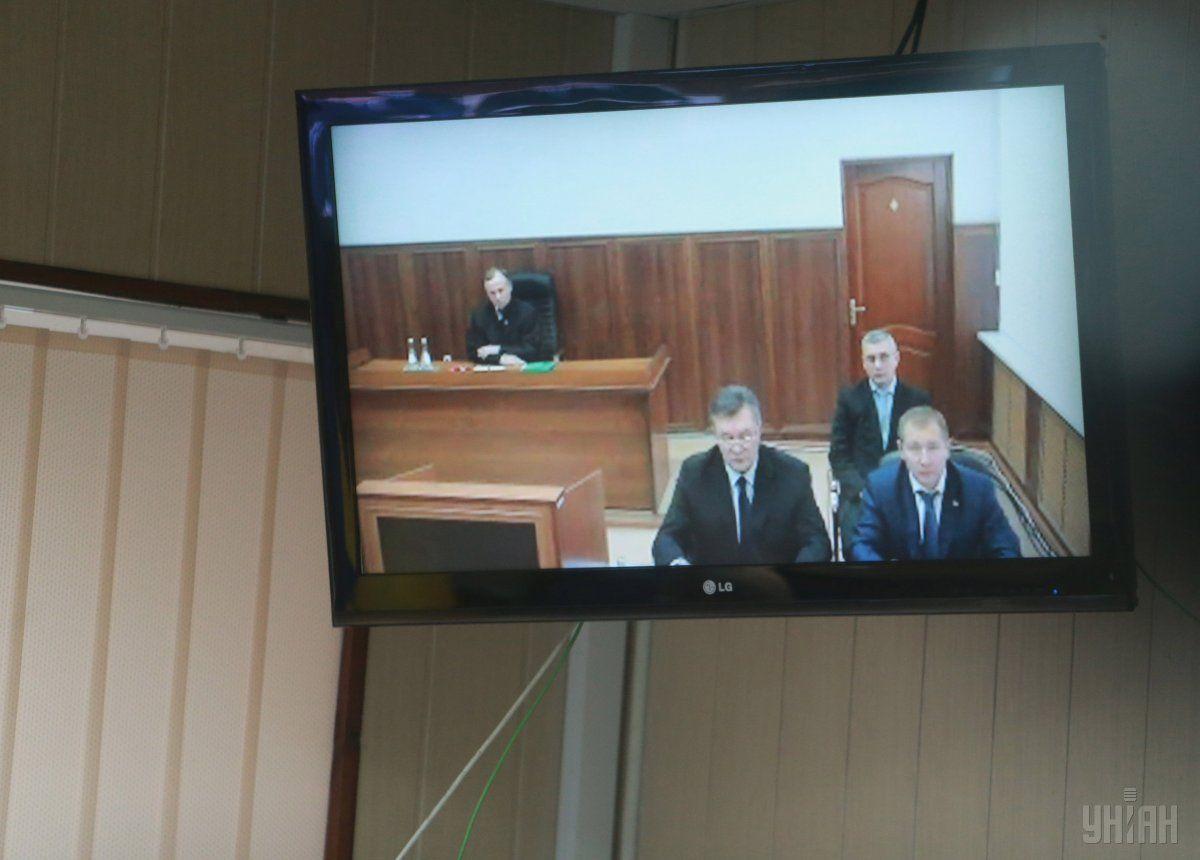 Генпрокуратура препятствует выступлению Януковича всуде