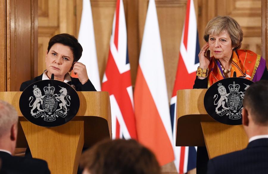Прем'єри Польщі і Британії Беата Шидло та Тереза Мей обговорили санкції проти РФ / PAP