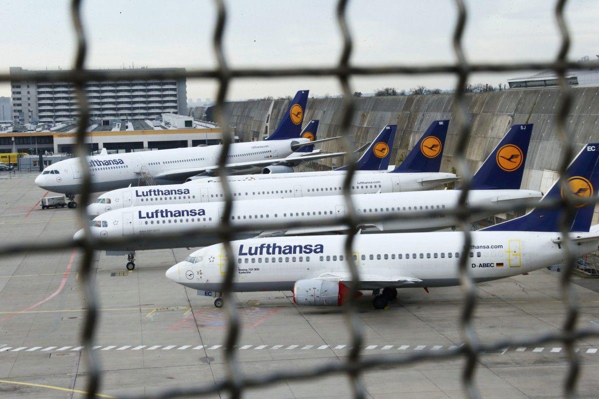 Lufthansa Group намерена утроить свое присутствие в Украине в летнюю навигацию /REUTERS