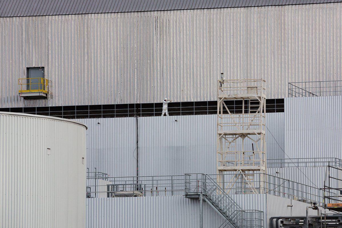 В цьому році буде введено в експлуатацію арку над четвертим енергоблоком ЧАЕС / фото twitter.com/apukraine