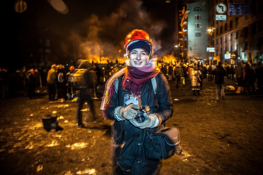 Kochetova-Nabozhnyak on the Maidan crackdown: I had this strange feeling / Photo from UNIAN