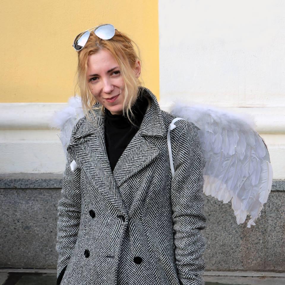Natalia Mamalyha was not hurt in a crackdown / facebook.com/natalia.mamalyga