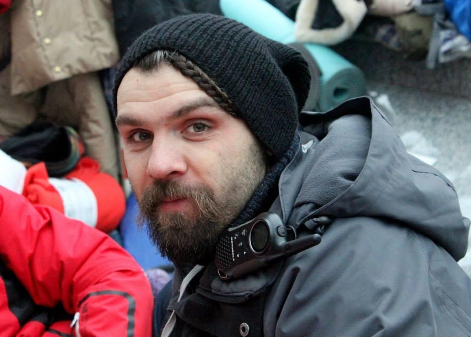 Vasylchuk was one of the commandants at the Maidan / facebook.com/vadym.vasylchuk