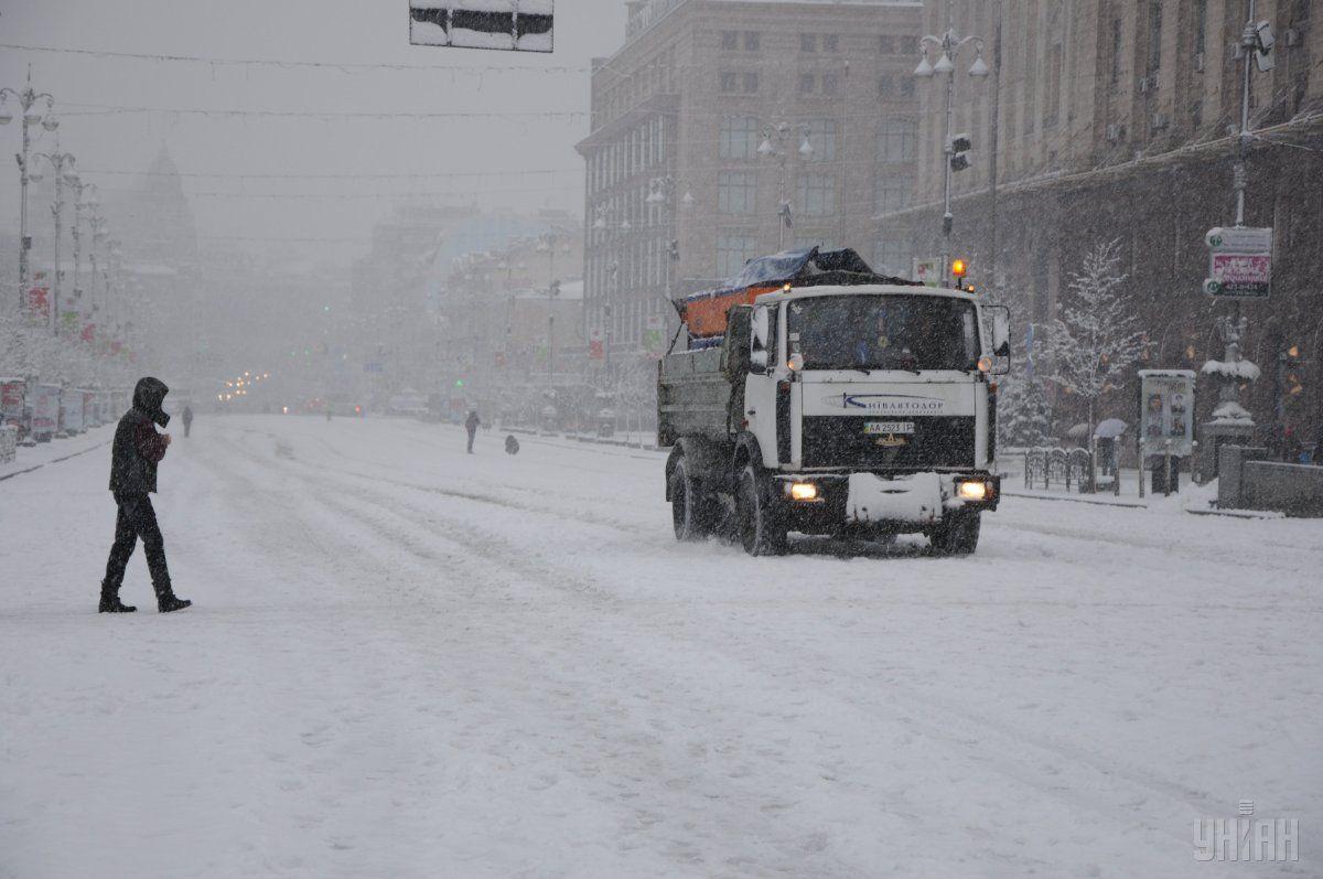 На вихідних в Україні продовжиться снігопад / УНІАН