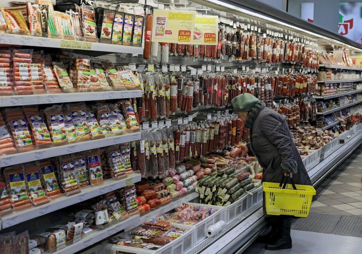 В прошлом году украинцы больше всего денег потратили на еду / REUTERS