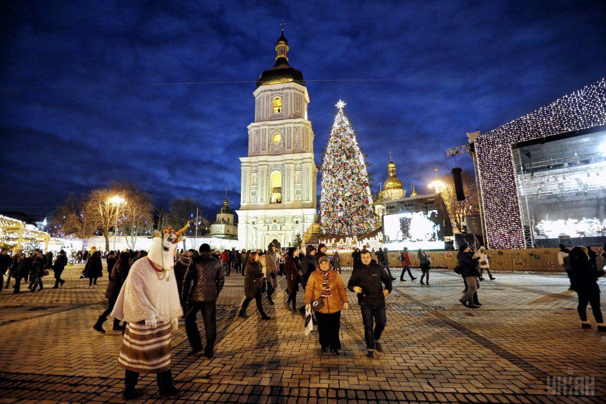Міська влада підготувала 21 новорічну акцію / Фото УНИАН