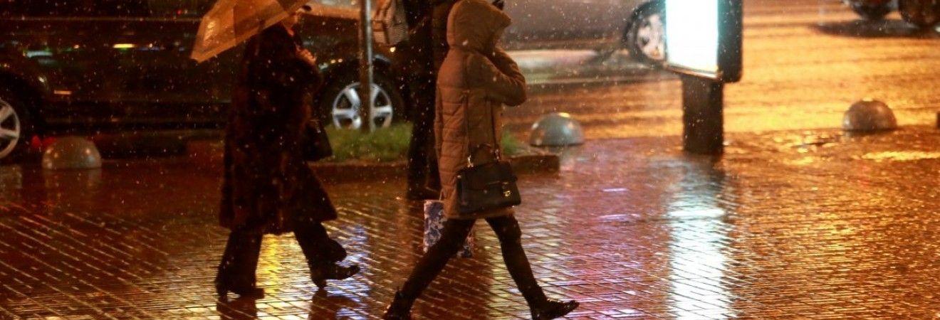 В Киеве сегодня пройдет дождь, температура до +11°