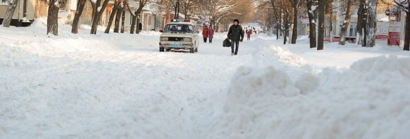 Непогода бушует в Украине: дополнительный выходной объявили в школах Тернопольщины
