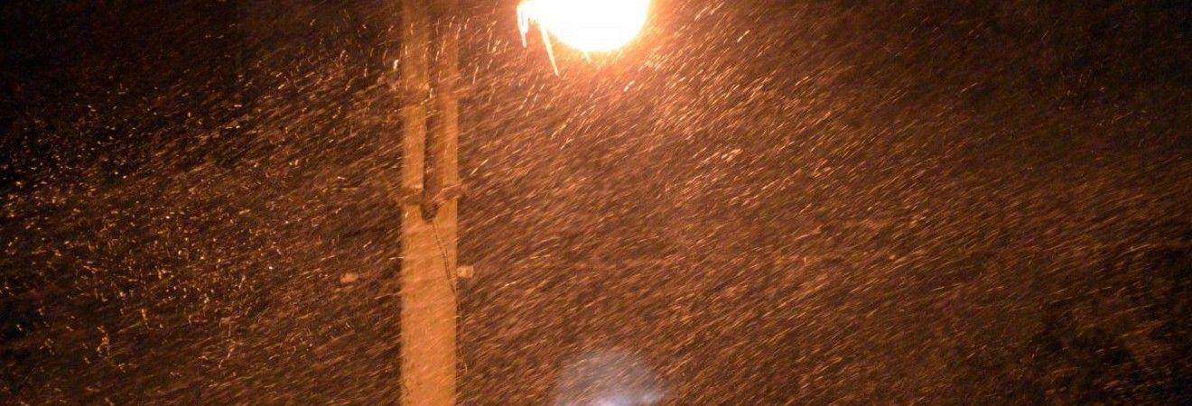Завтра в Україні пройдуть дощі та сніг, на півдні вдень до +7°