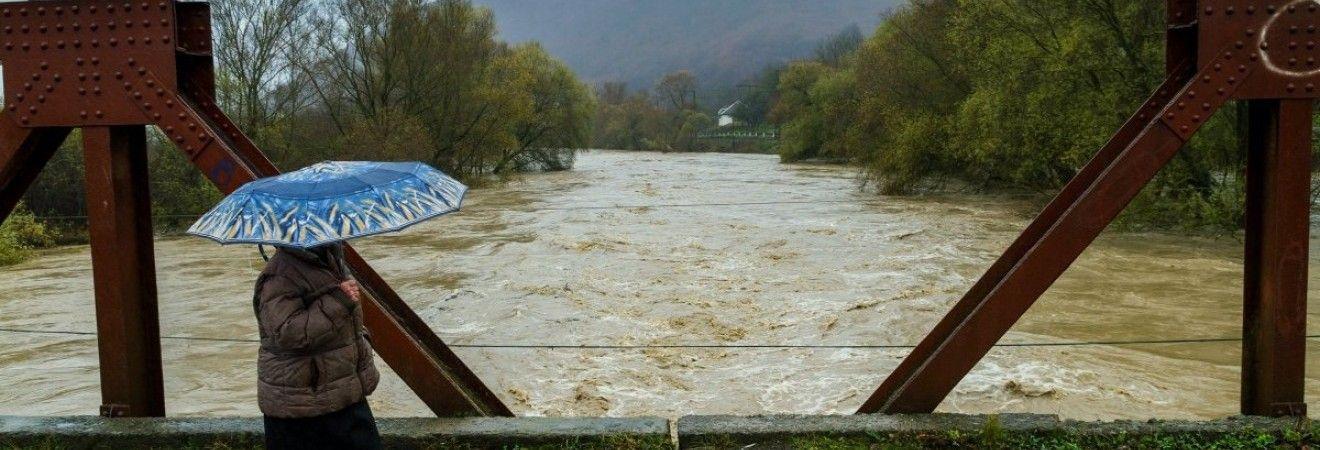 На реках Закарпатья ожидаются подъемы уровней воды