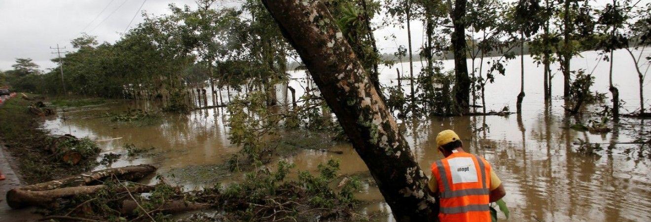 """Жертвами урагана """"Отто"""" в Коста-Рике стали 10 человек"""