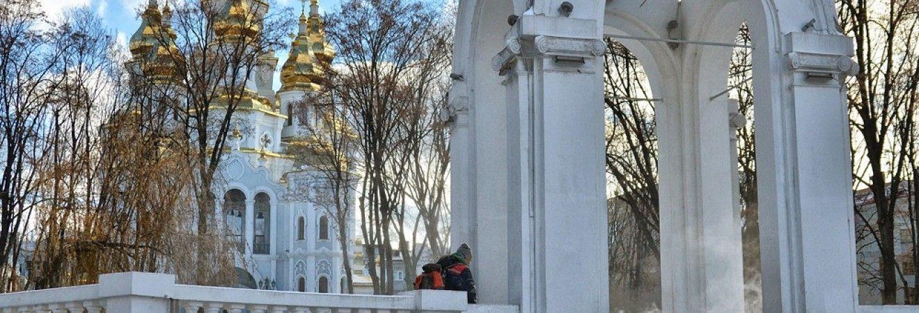 Циклон на Харьковщине: дороги посыпают песчано-солевой смесью, работает спецтехника (фото)