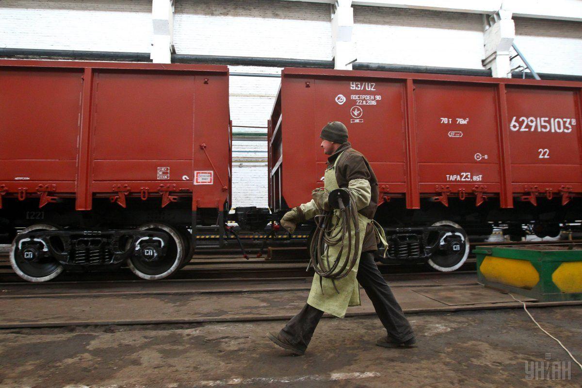 Тарифы на железнодорожные грузоперевозки выросли на 15% / фото УНИАН